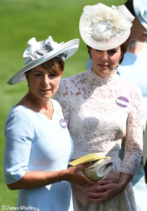 Carole Kate Middleton Duchess of Cambridge Royal Ascot 2017 picture