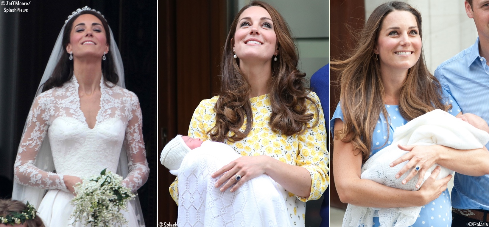 Kate Middleton Duchess Cambridge McQueen Wedding Gown Jenny Packham Lindo Wing