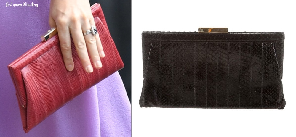 Duchess Cambridge Kate Middleton Hamburg Tour Germany Red Anya Hindmarch Handbag July 21 2017
