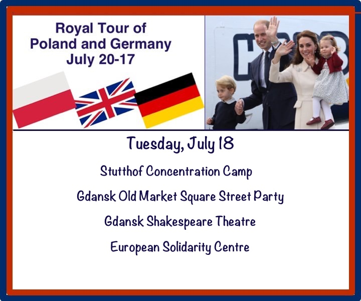 Graphic Tour Events Tuesday July 18 Poland Germany