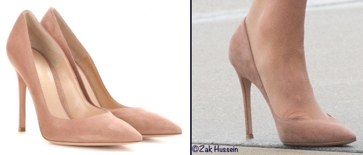 Kate Middleton Warsaw Poland Gianvito Rossi Praline Pumps