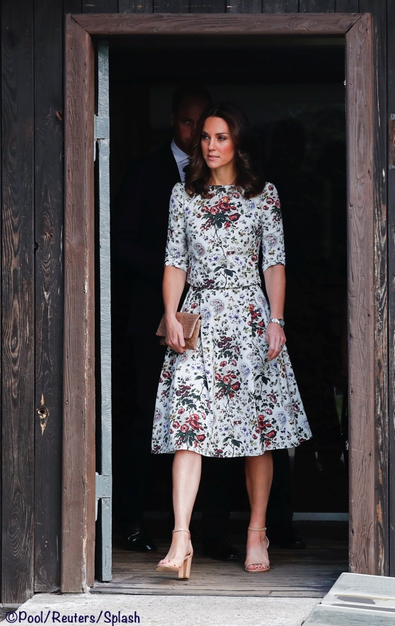 Prince William, the Duke of Cambridge and Catherine, The Duchess of Cambridge are seen at the museum of former German Nazi concentration camp Stutthof in Sztutowo