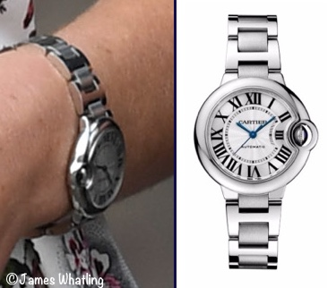 Kate Middleton Cartier watch Duchess Kate Ballon Bleu wristwatch