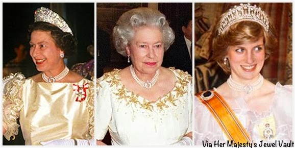 b9f5311364589 Kate in Queen's Pearl Necklace for 70th Anniversary Party - What ...