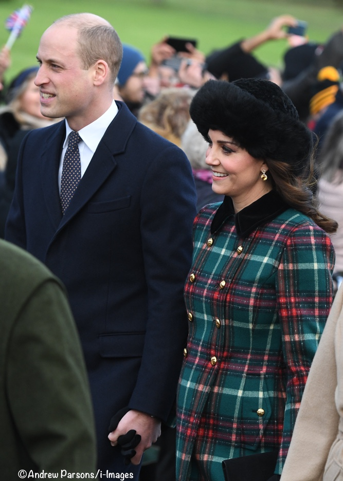 abee1315463 It s a New Tartan Coat for Christmas at Sandringham - What Kate Wore