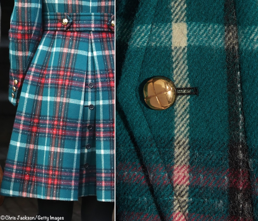 It s a New Tartan Coat for Christmas at Sandringham - What Kate Wore 49a876a09