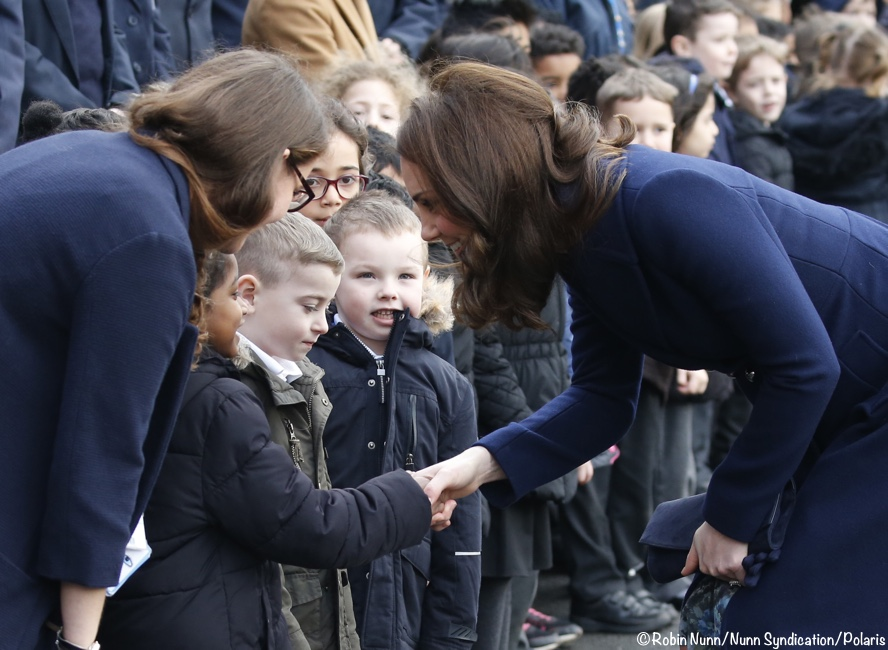The Duchess In New Coat A Maternity Favorite For Place2be School