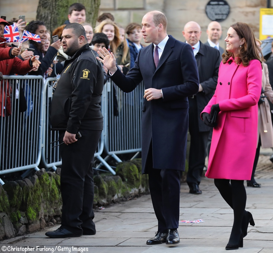 eb0b641d6763 Kate is In The Pink for Coventry Engagements - What Kate Wore