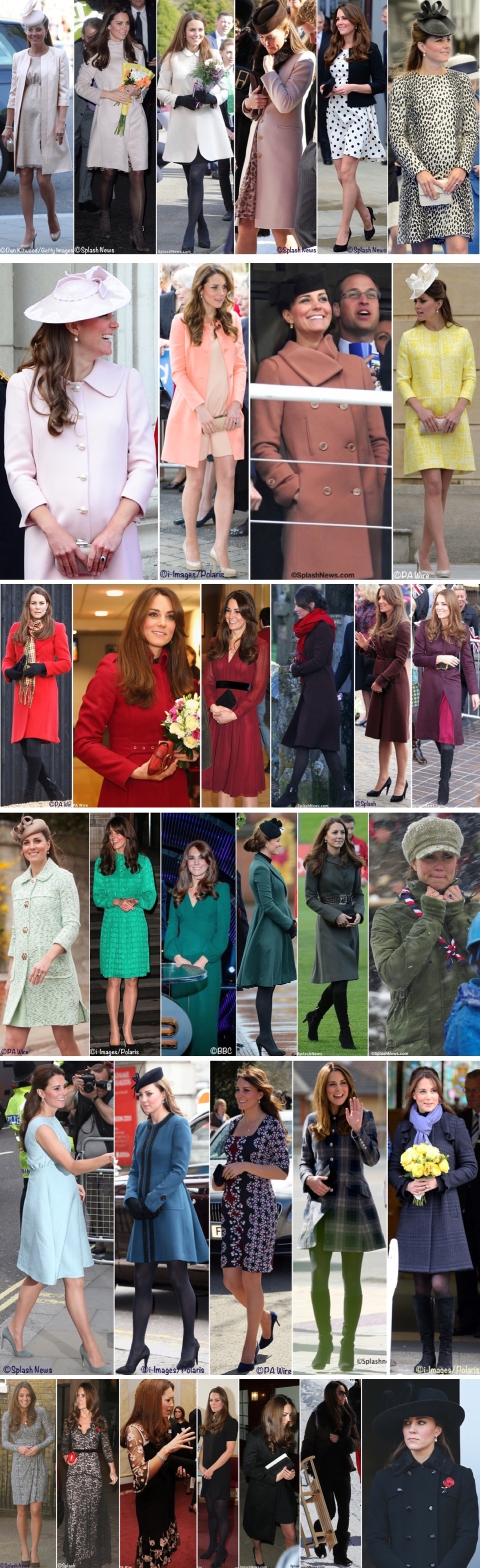 eda3123a86d2e And one more trip down memory lane, here are the pieces worn when Kate was  pregnant with Charlotte.