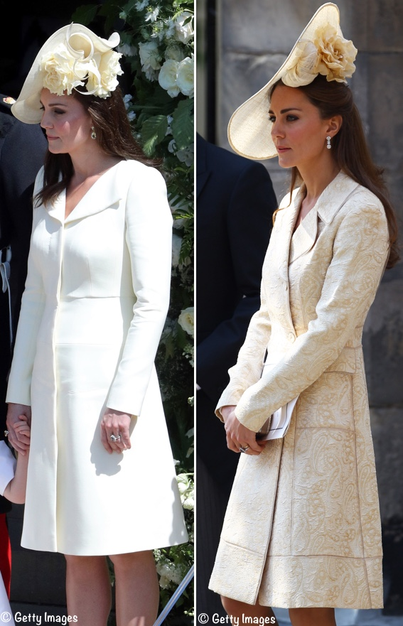 4bbc64c0497f3 There was a suggestion via Twitter that the style on the left is most like  Kate s hat.