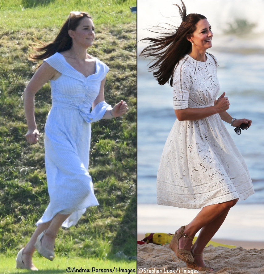 Another Zara Dress For Kate As She Takes Charlotte