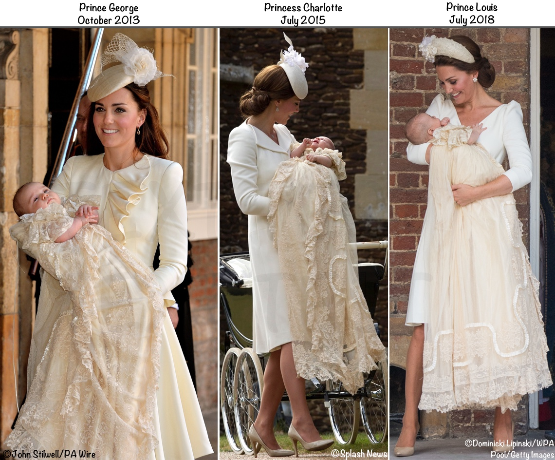 Its Alexander Mcqueen Jane Taylor For Prince Louiss Christening