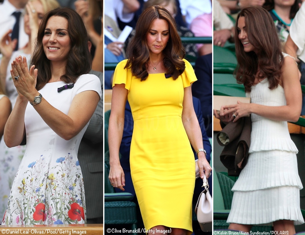 Wimbledon Poll Results and a Little Tiara Talk - What Kate Wore
