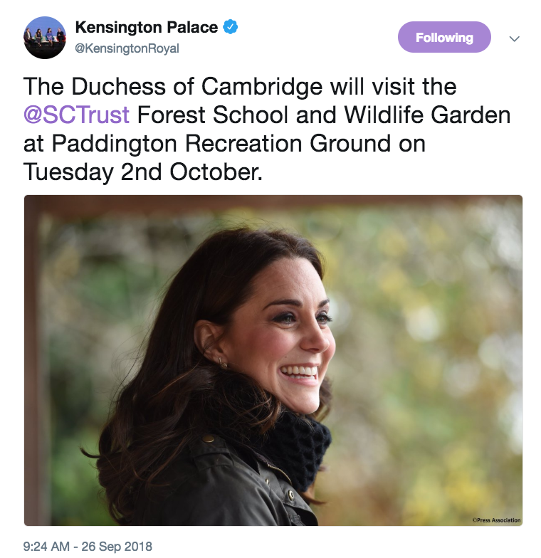 6955f10fb7 ... outstanding news  Kate is returning to formal engagements as she ends  her maternity leave. This morning Kensington Palace announced an engagement  for ...
