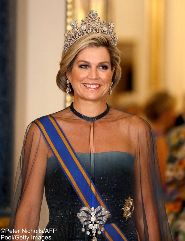 b84b9d77163 Kate in Glittering Diamonds and New Family Order for State Banquet ...