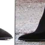 199f3e2bdc66 The Duchess Wears Catherine Walker for Leicester Engagements » Kate Tod s  Tods Black Suede Pumps Nov 28 2018 with Product shot