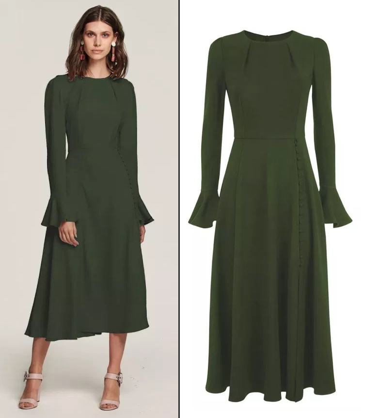 1f16a5b33a A New Beulah London Dress for Family Action Engagement - What Kate Wore