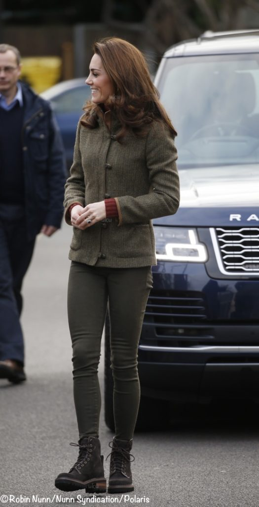 3b2e71758ba Kate in Dubarry and Chloé for Garden Visit   The Designing Duchess ...