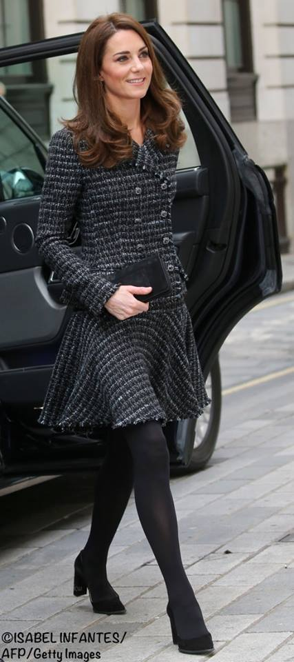 2f5a61b85 The Duchess in Dolce   Gabbana for Mentally Healthy Schools Conference