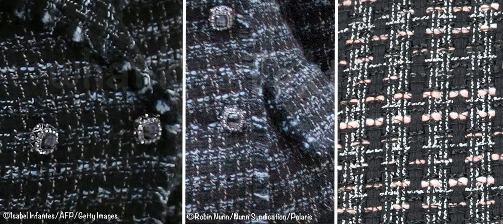 14af89e943b The brand does a fair amount of tweed. Today s fabric is shown below left  and center. On the right