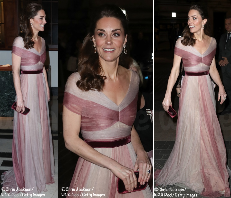 9f833871ff2a We'll start our look at what the Duchess wore with her Gucci evening gown.