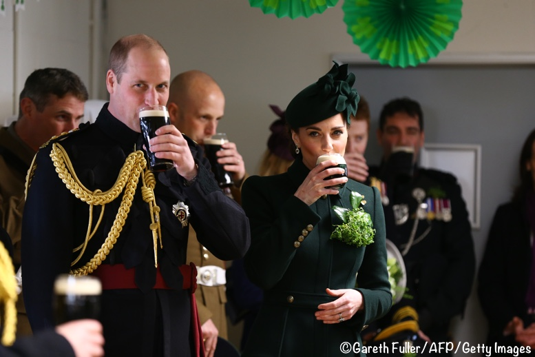Kate William Guinness Irish Guards March 17 2019
