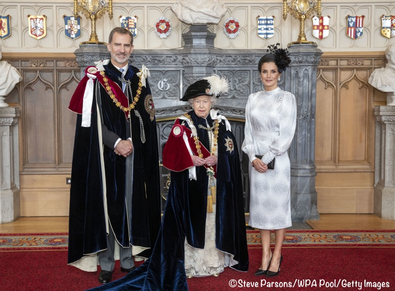 The Duchess Joins a Host of Royals for Garter Day in Windsor