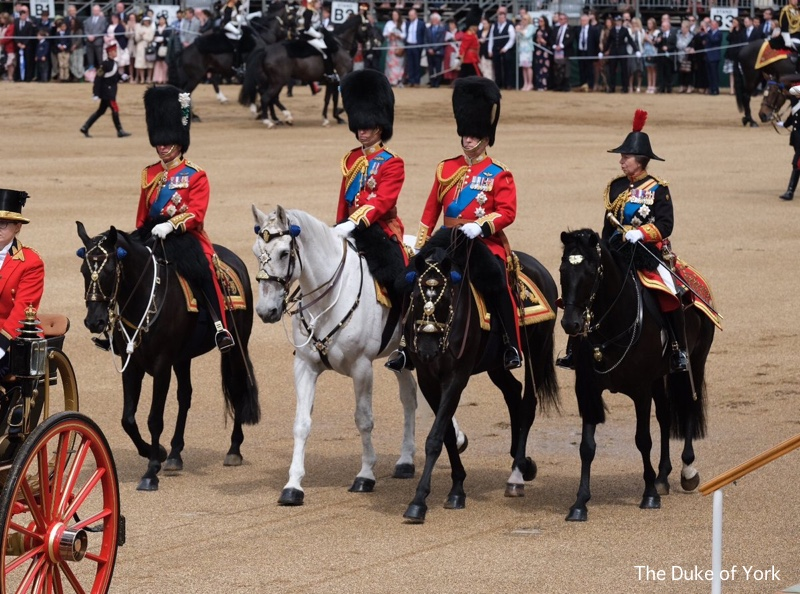 The Cambridges as a Family of Five at Trooping the Colour