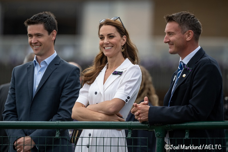 Kate Wears Suzannah Dress for Wimbledon Day 2 - UPDATED
