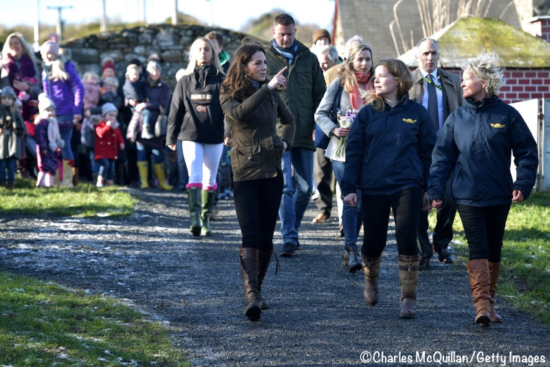 Kate Middleton Ark Open Farm Feb 2020