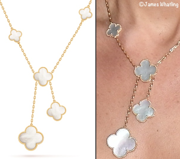 Kate Middleton Van Cleef Arpels ALhambra Necklace