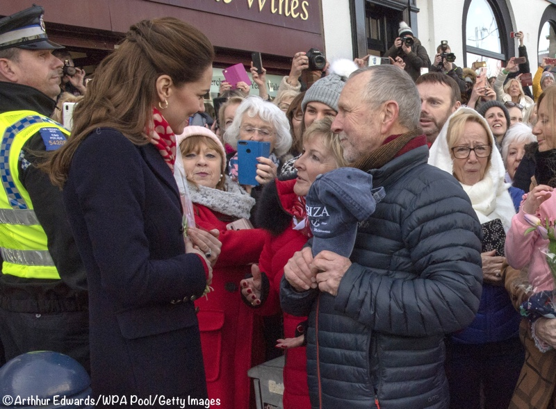 Kate Middleton Mumbles Wales Former Teahcers St Andrew's