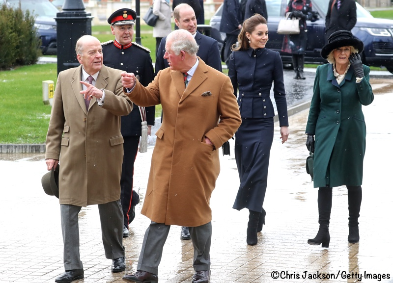 Kate William Charles Camilla Defence Rehab