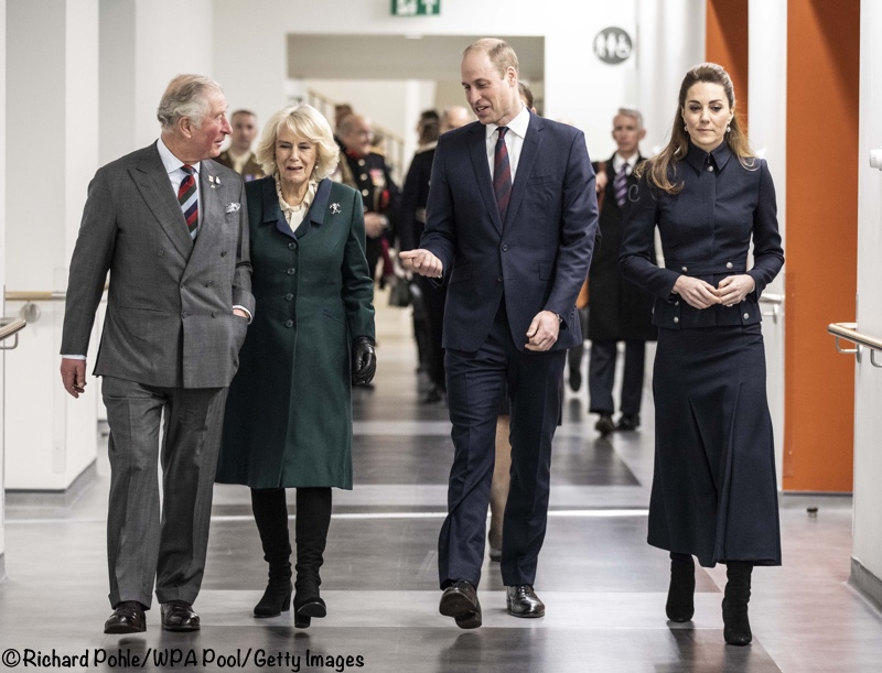 Kate William Charles Camilla Defence Rehab Centre Tour