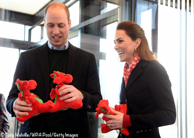 Kate William Wales Welsh Dragons