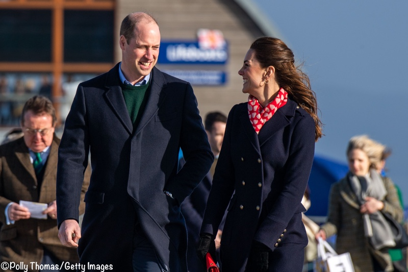 Kate William Mumbles Wales Pier