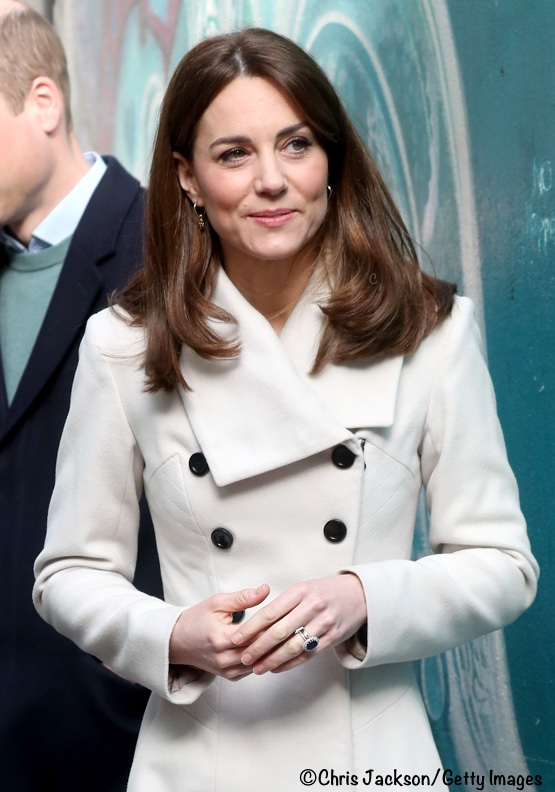 Kate Middleton Reiss Olivia Coat Ireland