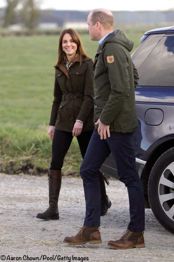 Kate William Teacasc Farm Dubarry Jacket Ireland