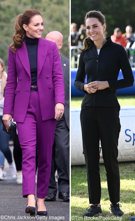 The Duchess in Emilia Wickstead & Lululemon for Northern Ireland Engagements